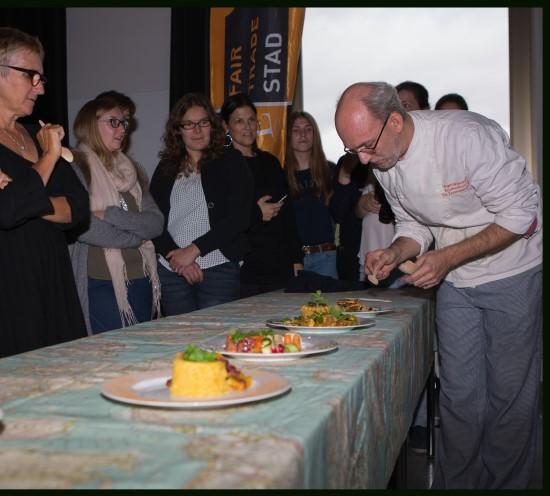 Vegetarisch koken Fairtrade kookbattle Brugge