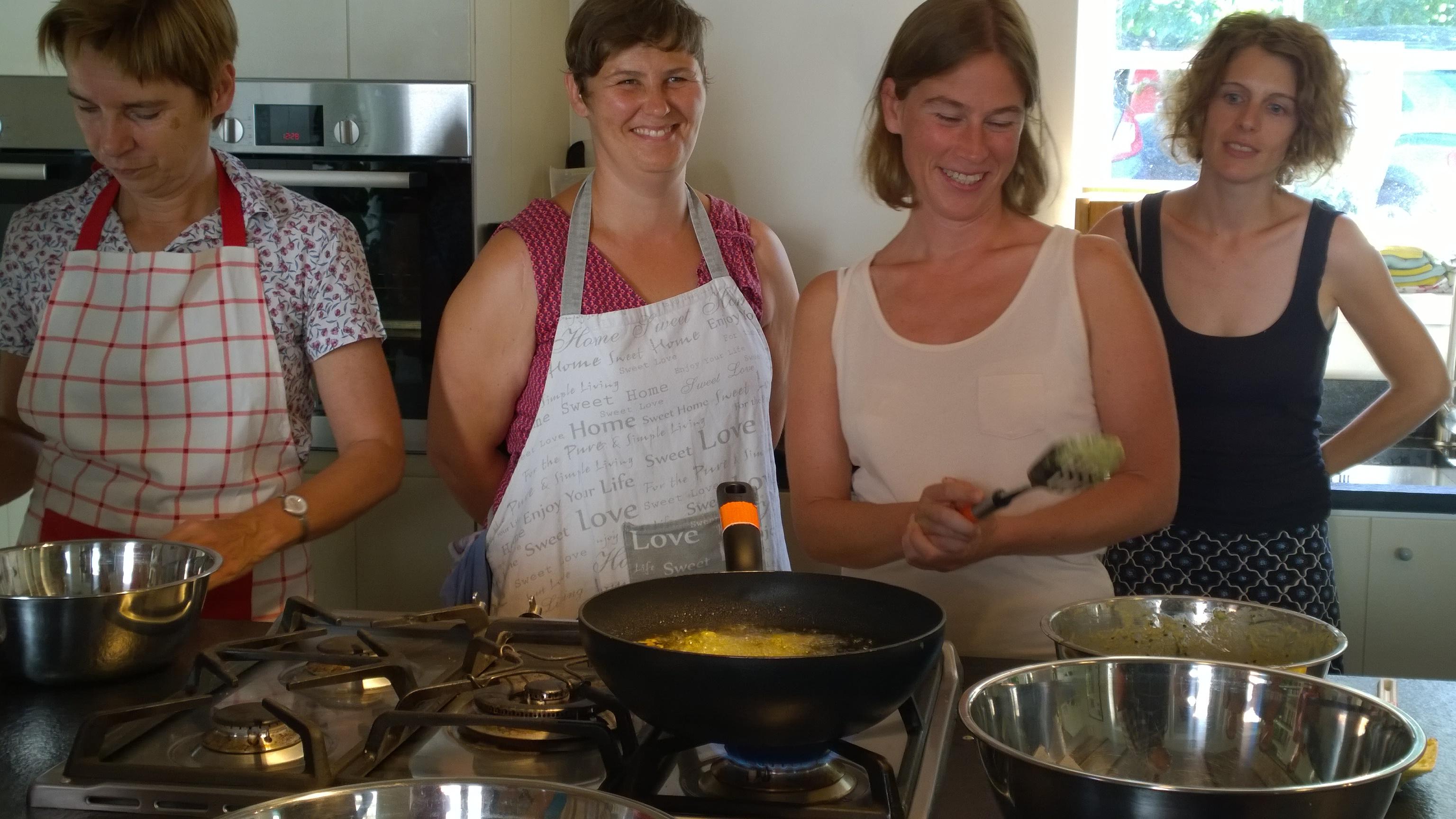 Vegetarische cursus op de Kollebloem 2016   Foto Veerle Lanckman